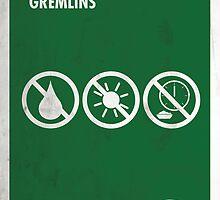 Gremlins Minimal Film Poster by quimmirabet