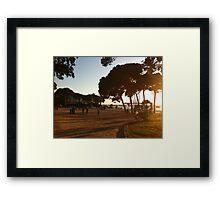 Juan les PIns Framed Print