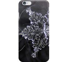 Macro Snowflake iPhone Case/Skin