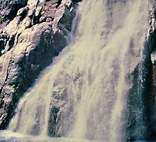 Norwegian Waterfall by ValSteve59