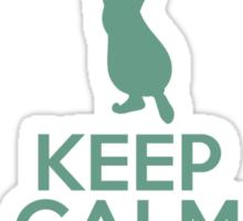Keep Calm and See the World (Jasmine, Aladdin) Sticker