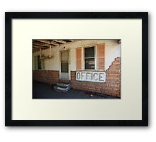 Route 66 Motel Framed Print