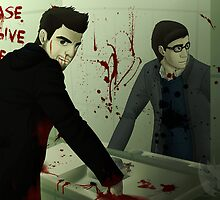 Sylar & Gabriel Gray by KumoriDragon