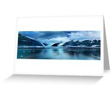 Prince William  glacier cruise-Alaska Greeting Card