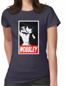 WOBBLEY Womens Fitted T-Shirt