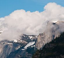 Half Dome in Yosemite National Park by donberry