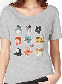 Studio Ghibli Friends Women's Relaxed Fit T-Shirt