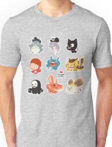 Studio Ghibli Friends Unisex T-Shirt