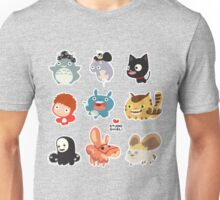 Studio Ghibli Friends Unisex T-Shirt