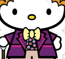 Hello Kitty | Willy Wonka | Good Day, Sir Sticker