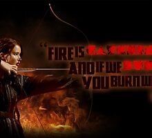 Catching Fire - Katniss Everdeen by PinkiexDash