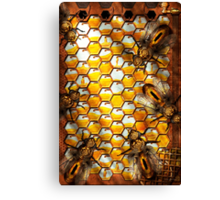 Steampunk - Apiary - The hive Canvas Print