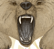 Roar of the Bear Sticker