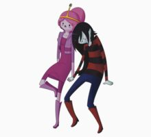 Princess Bubblegum & Marceline by KumoriDragon