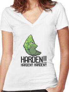 Harden forever Women's Fitted V-Neck T-Shirt