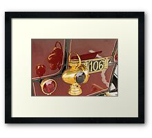 106 Ohio and Reflections Framed Print