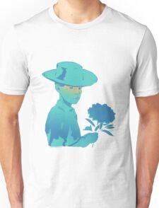 THE FLOWER BOY AS BLUE Unisex T-Shirt