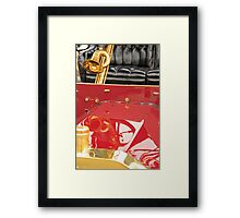 Hood and Horn Framed Print