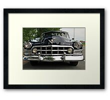 Black Cadillac Framed Print