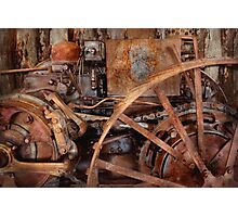 Steampunk - Machine - The industrial age Photographic Print