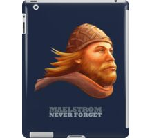 EPCOT Norway Pavilion MAELSTROM NEVER FORGET - Retro Disney - Viking iPad Case/Skin