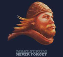 EPCOT Norway Pavilion MAELSTROM NEVER FORGET - Retro Disney - Viking by hobarthiggins
