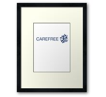 Carefree - TheChels Framed Print