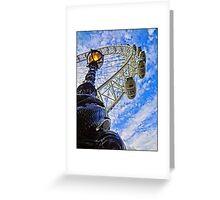 London Eye by Tim Constable Greeting Card