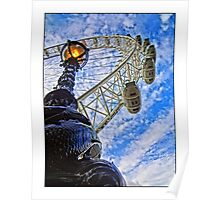 London Eye by Tim Constable Poster