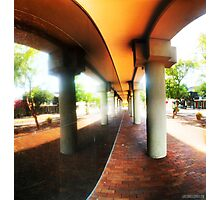 Downtown Lakeland Reflection Photographic Print