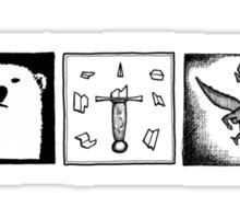 Minimalistic: His Dark Materials Sticker