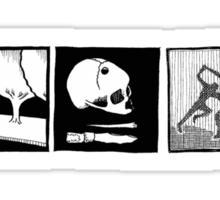Minimalistic: The Subtle Knife Sticker