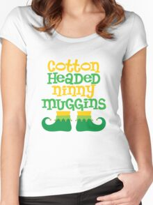 Ninny Muggins Women's Fitted Scoop T-Shirt