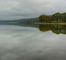 Esthwaite Water in October by VoluntaryRanger