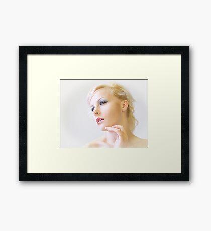 Natural Light Portrait Framed Print