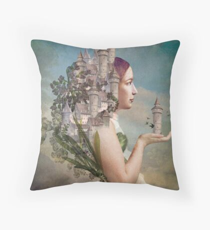 My Home is my Castle Throw Pillow