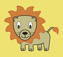 My Day at the Zoo - Lion One Piece - Short Sleeve