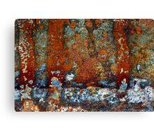 marina rust Canvas Print