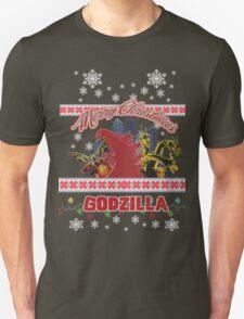 Merry Christmas Godzilla!! T-Shirt