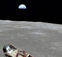 Vintage Apollo 11 Moon Mission Eagle's Ascent Sticker