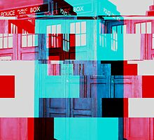 Tardis Glitch by SydneyStunah