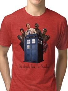 The Angels Have The Phonebox. Tri-blend T-Shirt