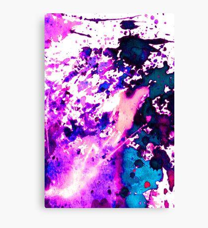 wild Purple Canvas Print