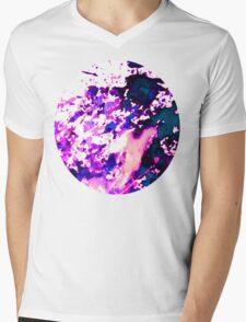 wild Purple Mens V-Neck T-Shirt
