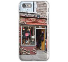 Les Mains Folle iPhone Case/Skin