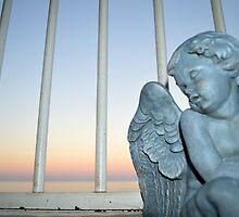 Stone Angel by AmandaRocheArt