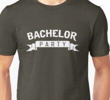 Bachelor Party Ribbon Unisex T-Shirt
