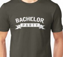 Bachelor Party Ribbon Unisex T-Shirt