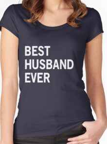 Best Husband Ever Women's Fitted Scoop T-Shirt