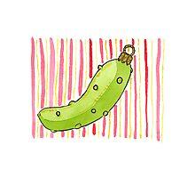 Christmas - The Christmas Pickle Photographic Print